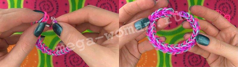 плетіння браслетів з гумок rainbow