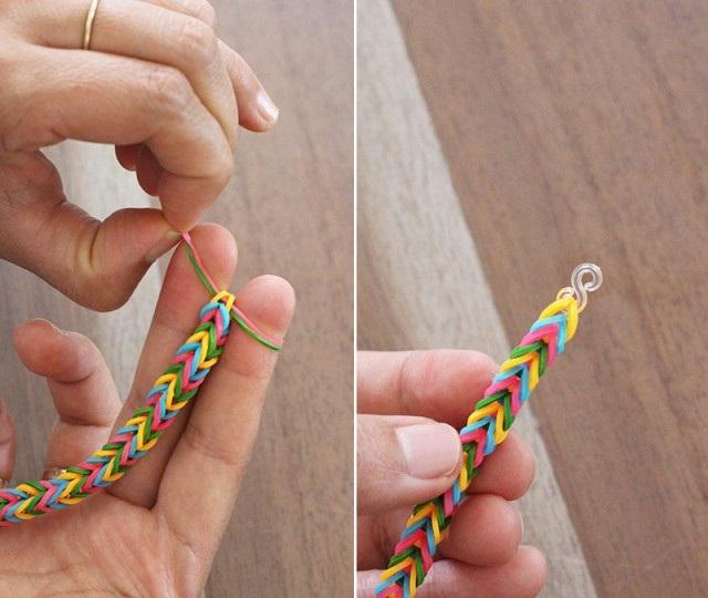 Як зробити браслет з гумок