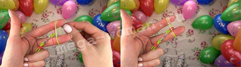 браслети з гумок фото верстат