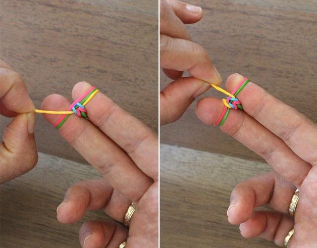 браслети з гумок на пальцях
